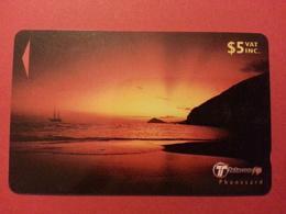 FIJI TELECOM 5$ Children Of The Sun SN 30FJC état Courant - Fidji