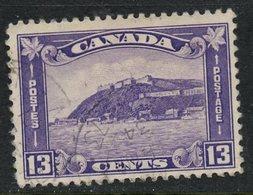 Canada 1932 13c Quebec Citadel Issue  #201 - 1911-1935 Règne De George V