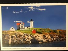 Cappe Neddick Nubble Island In Maine USA - Fari