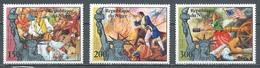 Niger Poste Aérienne YT N°265/267 Indépendance Des Etats-Unis Neuf ** - Niger (1960-...)