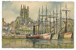 FECAMP - Le Port - Illustrateur BARDAY - 3121 B - Barday
