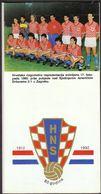Croatian Football Federation 80 Years - Libros, Revistas, Cómics