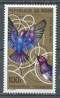 Niger Poste Aérienne YT N°252 Oiseau Neuf ** - Niger (1960-...)