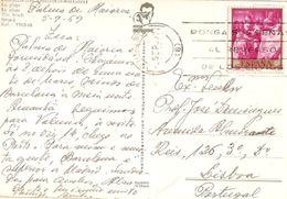 Spain & Marcofilia,Recuerdo De Formentera, Lisboa 1969 (7502) - 1931-Oggi: 2. Rep. - ... Juan Carlos I