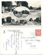 Great Britain 1960's RPPC Stonehouse - Wycliffe College, Stroud England To Cimla Neath - England