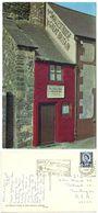 Great Britain 1969 Postcard  Conway - Smallest House, Llandudno Wales To U.S., Scott 11 - Caernarvonshire