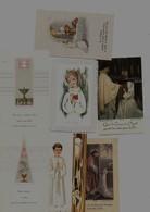 Lot De 7 Images Pieuses, Religieuses, Souvenirs De Communion Solennelle à FOUGERES (35) De 1950 à 1974 - Religione & Esoterismo