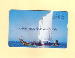 "PHONECARD ÓPTICO PORTUGAL PT046 ""AVEIRO"" 120U - EX: 8.000 - NEW/NOT USED - Portugal"