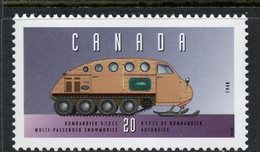 Canada 1996  20 Cent Bombardier Snowmobile Issue  #1605u  MNH - 1952-.... Reign Of Elizabeth II