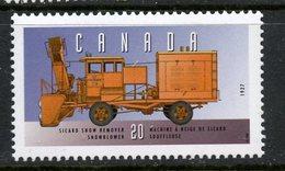 Canada 1996  20 Cent Sicard Snowblower Issue  #1605t  MNH - 1952-.... Reign Of Elizabeth II