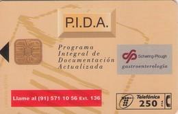 TARJETA TELEFONICA DE ESPAÑA USADA. 12.96 - TIRADA 5100 (418). P.I.D.A. - Spain