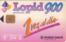 TARJETA TELEFONICA DE ESPAÑA USADA. 05.96 - TIRADA 24000 (419). LOPID 900. - Spain
