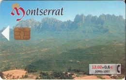 TARJETA TELEFONICA DE ESPAÑA USADA. 05.01 (421). MONTSERRAT. - Spain