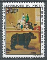 Niger Poste Aérienne YT N°236 Europafrique Le Rhinocéros Neuf ** - Niger (1960-...)