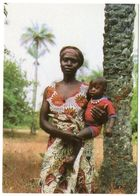 GUINEA BISSAU - MAMMA CON BAMBINO / MOTHER AND CHILD / RED METER / EMA - Guinea-Bissau