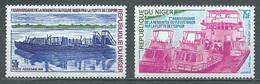 Niger Poste Aérienne YT N°223/224 Remontée Du Fleuve Niger Par La Flotte De L'espoir Neuf ** - Niger (1960-...)