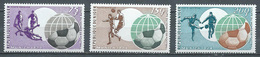 Niger Poste Aérienne YT N°227/229 Coupe Du Monde De Football Munich 1974 Neuf ** - Niger (1960-...)