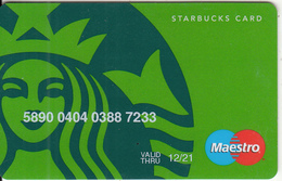 TURKEY - Starbucks Card, Exp.date 12/21, Unused - Gift Cards