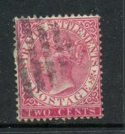 Straits Settlements 1883  2 Cent Queen Victoria Issue  #41 - Straits Settlements