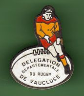 RUGBY *** DELEGATION DEPARTEMENTALE DE VAUCLUSE *** A060 - Rugby