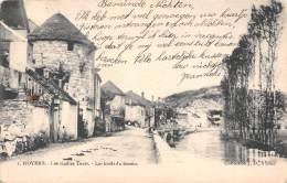 89 - NOYERS - Les Vieilles Tours.  Les Bords Du Serein - Noyers Sur Serein