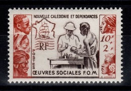 Nouvelle Calédonie YV 278 N* (légère) Oeuvres Sociales Cote 8,50 Euros - Unused Stamps
