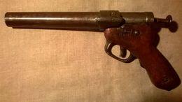 Rare Pistolet Lance Fusée Allemand KOMMANDANTUR LILLE Erzatz WW1 - Armes Neutralisées