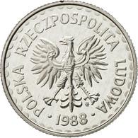 Pologne, Zloty, 1988, Warsaw, FDC, Aluminium, KM:49.2 - Pologne