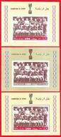 RARE! AJMAN 1968. FOOTBALL. WORLD CUP 1966.ENGLAND WINNERS. 3SS. PERF.+IMPERF.+PROOF. MNH. 2018d25g - Copa Mundial