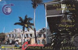 Antigua & Barbuda GPT Card (Fine Used) Code6CATB - Antigua And Barbuda