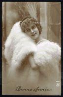 Jeune Femme Avec Fourrure - Circulé - Circulated - Gelaufen - 1914. - Femmes
