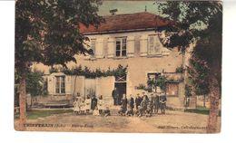CPA - Coloriée   THIEFFRAIN (Aube)  Mairie-école - Frankreich