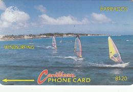 Barbados GPT Card (Fine Used) Code 10CBDB - Barbados