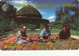 Tonga GPT Phonecard (Fine Used) Code 1CTGA - Tonga