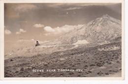 Nevada Scene Near Tonopah Real Photo - United States
