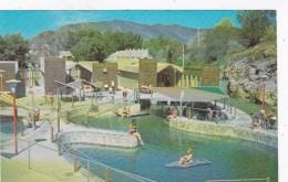 Idaho Lava Hot Springs Hot Water Pool - United States