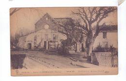 51 SERMAIZE LES BAINS Facade Eglise  Destruction Guerre 1914 - France