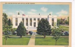 Oregon Salem Post Office Curteich - Salem