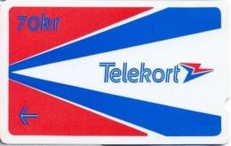 NORWAY : NORT6 70 Kr Red USED - Norway