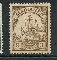 Mariana Islands 1901 3pf Kaisers Yacht Issue  #17 - Colony: Mariana Islands