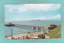Small Post Card Of The Pier,Totland Bay,Isle Of Wight,J16. - England