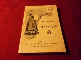 PARIS ALBERT MERICANT  No 10 ° LES AMOURS DE JEANNETTE PAR L MARVILLE - Livres, BD, Revues