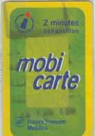 MOBICARTE  2 MINUTES  ECHANTILLON..NEUVE SOUS BLISTER - France
