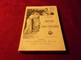 PARIS ALBERT MERICANT   No 17 ° CONTES ET NOUVELLES PAR LA FONTAINE  TOME 1 - 1901-1940