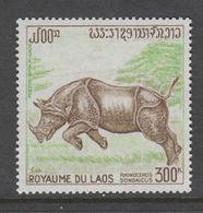 TIMBRE NEUF DU LAOS - RHINOCEROS N° Y&T PA 83 - Rhinozerosse