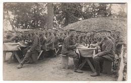 Nr.+  428,  FOTO-AK,  WK I, Waldlager Bei Korytnica, Polen, Masowien - Guerre 1914-18