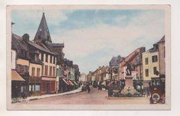 BRETEUIL SUR NOYE 60 OISE - RUE DE LA REPUBLIQUE - ECRITE EN 1948,CARTE COLORISEE, VOIR LES SCANNERS - Breteuil