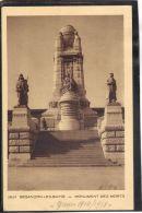 2575. BESANCON  LES BAINS . MONUMENT DES MORTS  (recto Verso)    ANNEE . 1933 - Besancon