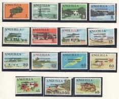 ANGUILLA  1968 -1974  20  Sets And 6 Souvenir Sheets All UM - MNH - Anguilla (1968-...)
