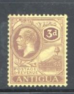 ANTIGUA   George V  3d. SG 74  MM-MH - Antigua & Barbuda (...-1981)
